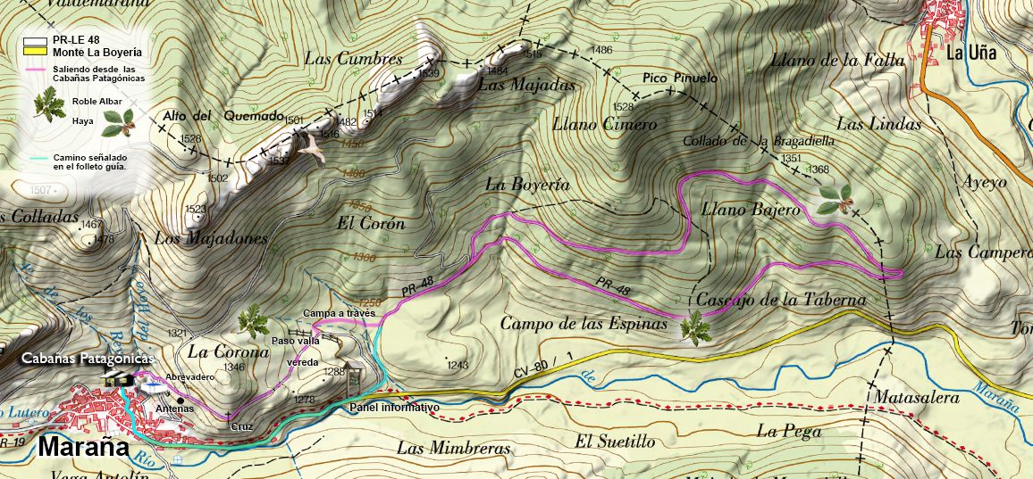 Plano actual La Boyería