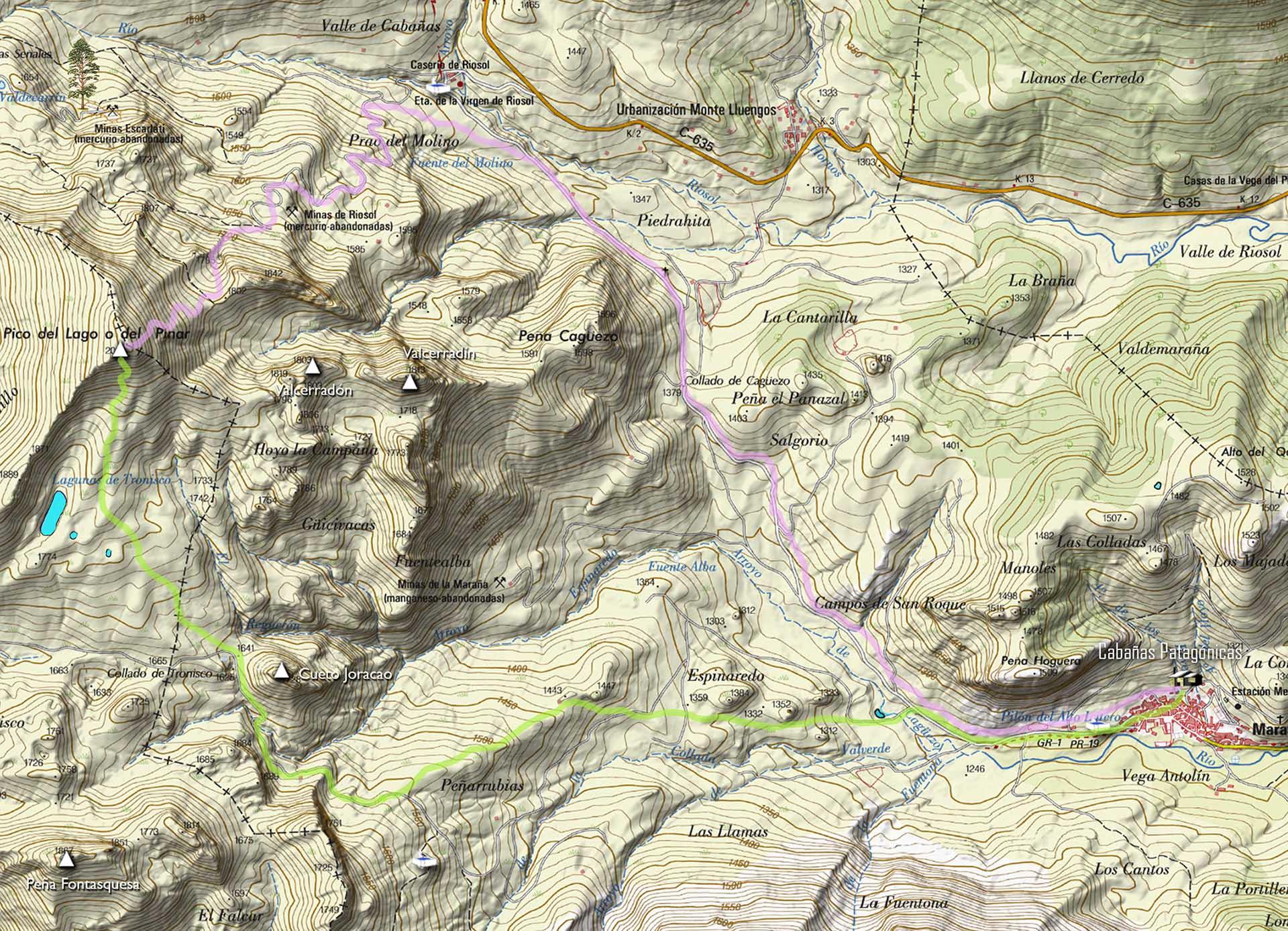 rutas Pico Lago